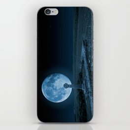 Celtic Cross and Moon iPhone Skin