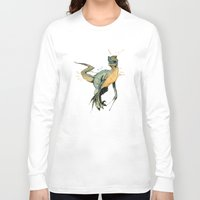 dinosaur Long Sleeve T-shirts featuring Dinosaur by Nicola Girello