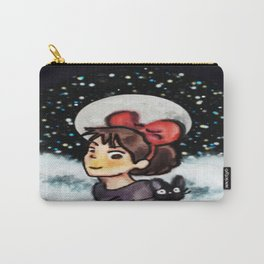 Little Witch in chalk Carry-All Pouch