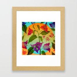 Bright Botanical Framed Art Print