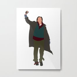 Criminal The Breakfast Club 80s movie Metal Print