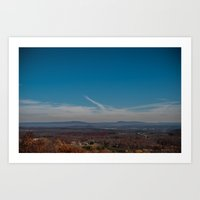 maryland Art Prints featuring Western Maryland by Josh Lohmeyer