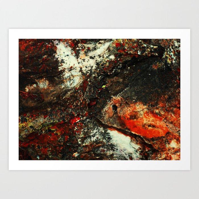 """Dirty Rock"" Art Print"