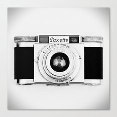 Paxette vintage camera Canvas Print