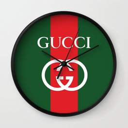 gucc i Wall Clock