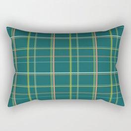 Retro Plaid For Scottish Outlander Highlander Fans or Wood Cabin Decor Rectangular Pillow