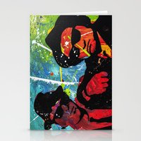 blues brothers Stationery Cards featuring Blues by veermania