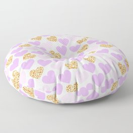 Hearts Floor Pillow