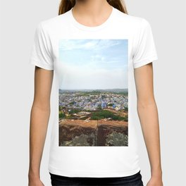 Jodhpur Blue City view T-shirt