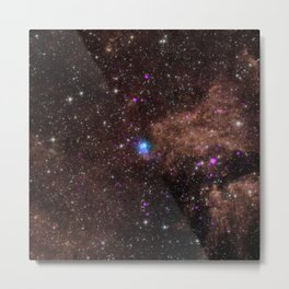 279. Powerful, Pulsating Core of Star Metal Print