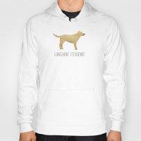 labrador Hoodies featuring Labrador Retriever by 52 Dogs