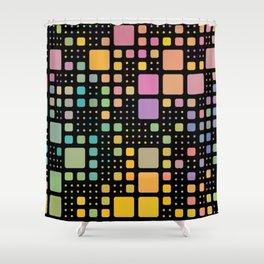 Pop Squares Shower Curtain