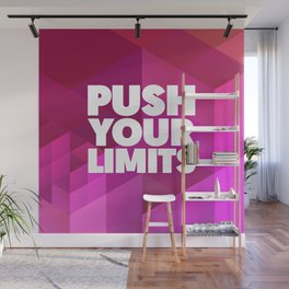Push Your Limits Wall Mural