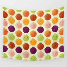 Cutie Fruity (Watercolour) Wall Tapestry