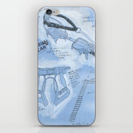 Ice Climbing 101 iPhone Skin