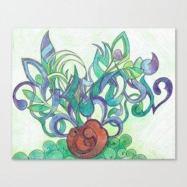 Germination Canvas Print