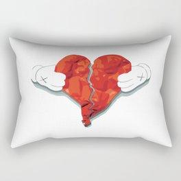 KAWS Heart Rectangular Pillow