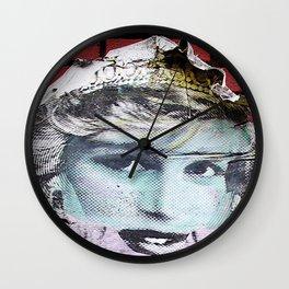 Paper Princess Wall Clock