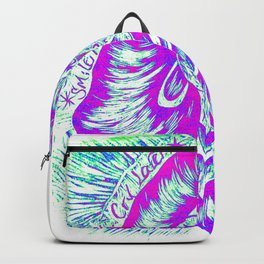Smile Now Cry Later Rainbow Backpack
