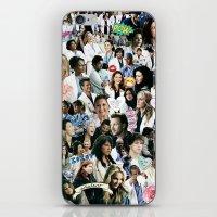greys anatomy iPhone & iPod Skins featuring Greys Anatomy - Too Sassy for You by drmedusagrey