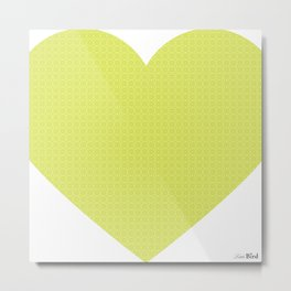 I love you this much... (green) Metal Print