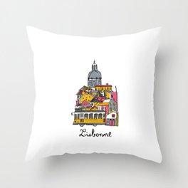 Lisbonne Throw Pillow