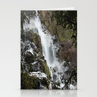 waterfall Stationery Cards featuring Waterfall by Four Hands Art