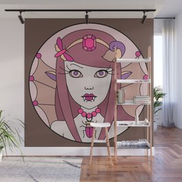Fairy loves candy 2 Wall Mural