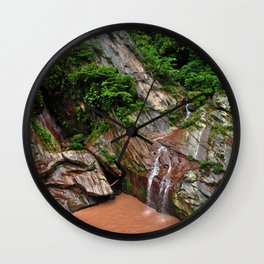 Peruvian Amazon I Wall Clock