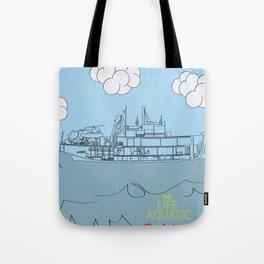 Zissou Boat Tote Bag