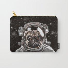 Astronaut Pug Selfie Carry-All Pouch
