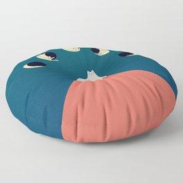 Cat Landscape 88 Floor Pillow