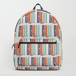CHILL OUT! modern type Backpack