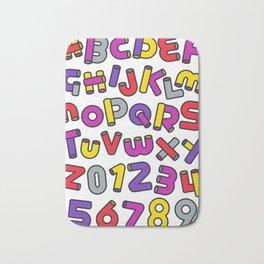 Alphabet Bath Mat