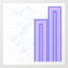 Pattern Number One Art Print