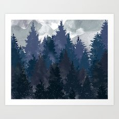 Winter i will never forget you Art Print