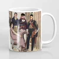 pride and prejudice Mugs featuring Pride and Prejudice and Werewolves by DeadPlants