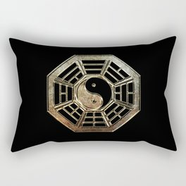Yin Yang Bagua Rectangular Pillow