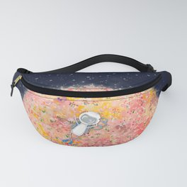 Just Chillin' on a Flower Moon Fanny Pack