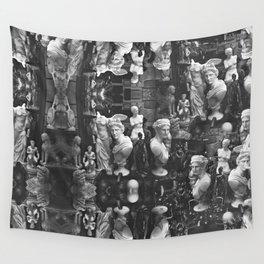 Greek statues Wall Tapestry