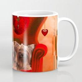 Cute little Yorkshire Terrier Coffee Mug