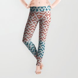Rose and Gold Marble Pattern Leggings