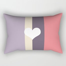 Girly Pastel Rectangular Pillow