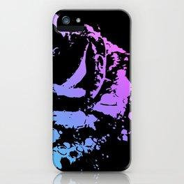 Splattered Rose iPhone Case