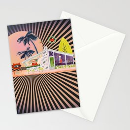 Atomic Age Collage Stationery Cards
