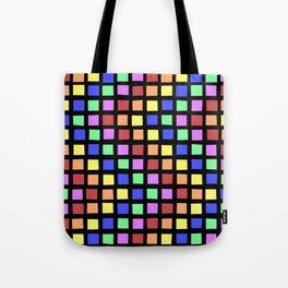 ROYGBV Tiles at Play Tote Bag