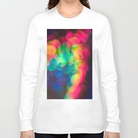 bokeh Long Sleeve T-shirts featuring Bokeh by Liz Wyatt