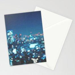 city dots Stationery Cards