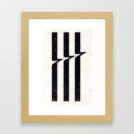 Glitch Framed Art Print