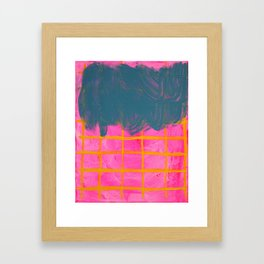 Comforting Delusions Framed Art Print